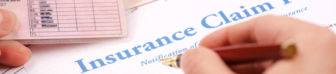 filing an insurance claim form